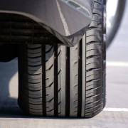 A picture of a tyre with the correct tyre pressure