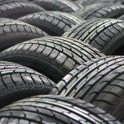 An image of lots of car tyres